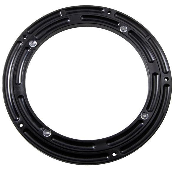 Gedotec Drehbeschlag 360° drehbar Ciak Kunststoff schwarz Tragkraft 200 kg